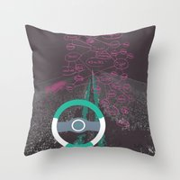 miles davis Throw Pillows featuring 95 miles... by Modify New York