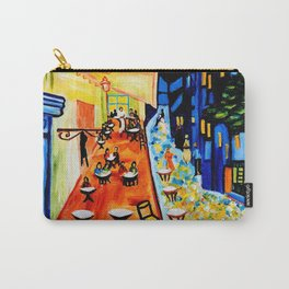 Cafe Terrace - Homage to Van Gogh Carry-All Pouch