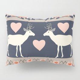Romantic deer Pillow Sham