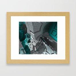 Fractaled Framed Art Print