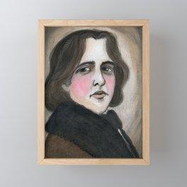 The Importance of Being Oscar Wilde Framed Mini Art Print