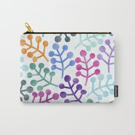 Flower Pattern IV Carry-All Pouch
