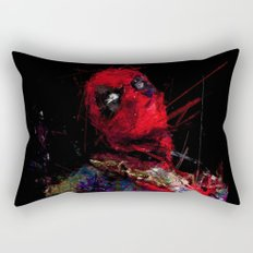 Hero with merc mouth Rectangular Pillow