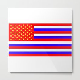 The New flag for the USA (Putin approved) Metal Print