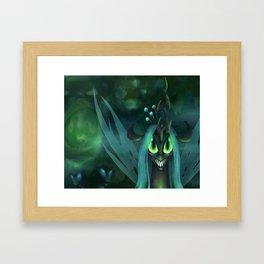 Queen Chrysalis Framed Art Print