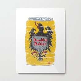 Dunkler Adle Metal Print