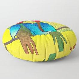 LoveBirds Floor Pillow