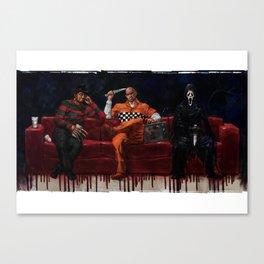 Three Killers Chilling Canvas Print