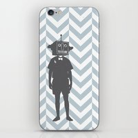 sci fi iPhone & iPod Skins featuring Sci-Fi Geek by Jade Deluxe