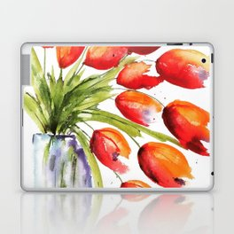 Tulips Overflowing Laptop & iPad Skin