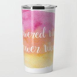 Empowered Women, Empower Women Travel Mug