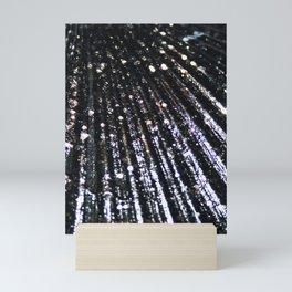 Triton´s Secrets - Black Shimmer Mini Art Print