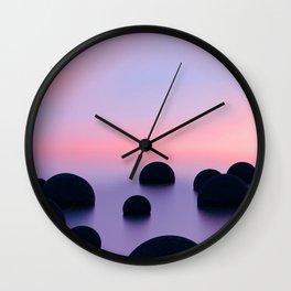 Moeraki Wall Clock