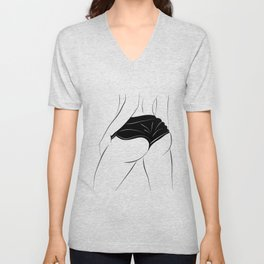Sporty back Unisex V-Neck