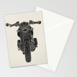 GT1000 Motorcycle Stationery Cards