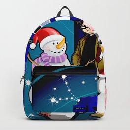 Tardis Christmas Backpack