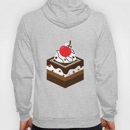 Brown Chocolate Cake Hoody
