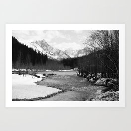 Flathead and Glacier Art Print