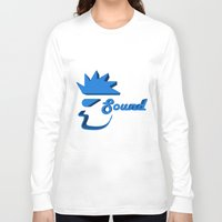sound Long Sleeve T-shirts featuring Sound by Zeep Design