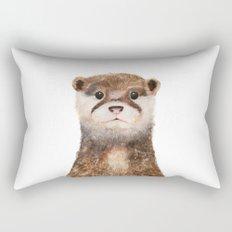 Little Otter Rectangular Pillow