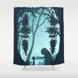 Lonely Spirit Spirited Away Shower Curtain