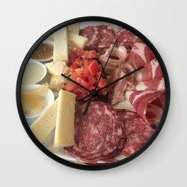 Antipasti Platter Wall Clock