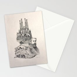 Tribute to Gaudi Stationery Cards