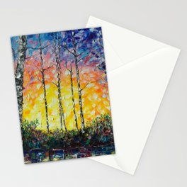 """Morning Breaks"" Stationery Cards"