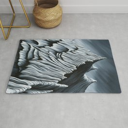 'Strange Peaks and Ridges' Rug