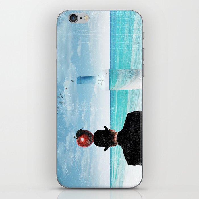 René at the beach iPhone Skin