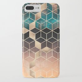 Ombre Dream Cubes iPhone Case