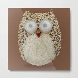 Specs, The Grainy Owl! Metal Print
