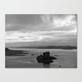 Floating Castle Canvas Print