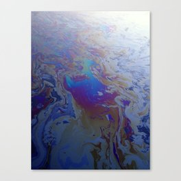 Gowanus Oil Slick Canvas Print
