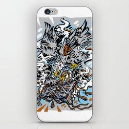 Eagle Vs Drone iPhone Skin