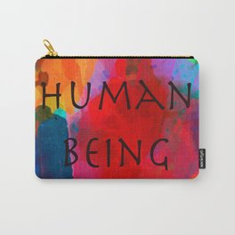 Human being- Pride Carry-All Pouch