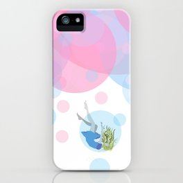 Falling Out Of Sleep iPhone Case