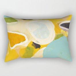 sunshine fall garden leaves Rectangular Pillow