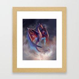 Celestial Dragon Framed Art Print