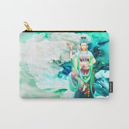 The Goddess of Mercy Carry-All Pouch
