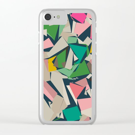 Fragments Clear iPhone Case