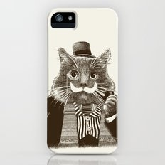 Mustache Cat iPhone (5, 5s) Slim Case