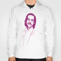 nick cave Hoodies featuring Nick Cave by 1and9