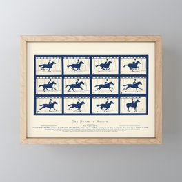 Horse In Motion - Sallie Gardner At A Gallop Framed Mini Art Print