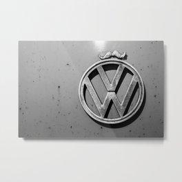 VW Mo. Metal Print