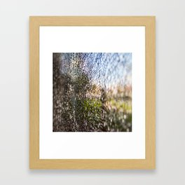crack Framed Art Print