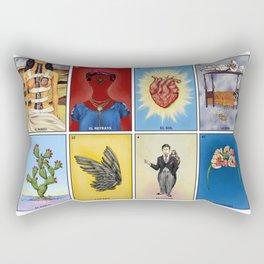 La Lotería de Frida Rectangular Pillow