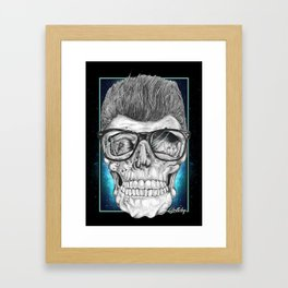 Greaser Framed Art Print