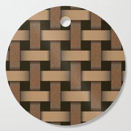 wicker seamless pattern Cutting Board