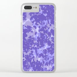 Lavender and Sage Clear iPhone Case